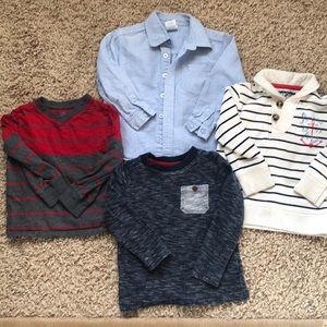 Other - Boys 3T long sleeve shirt bundle